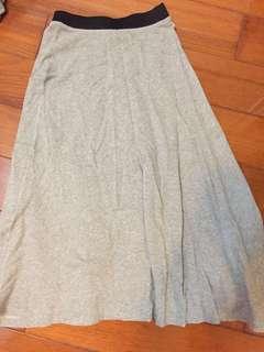 Zara灰裙