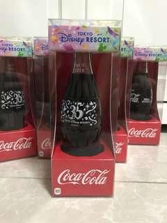 [全新] Coca Cola 可口可樂日本東京迪士尼35周年紀念玻璃瓶可樂