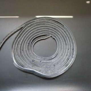 Anti Dust 5mm thick Adhesive Strips for display cabinets - 5 Meter Roll
