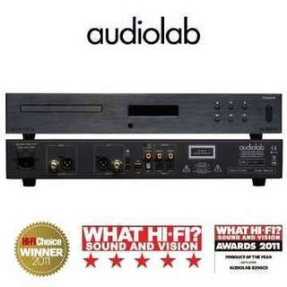 AUDIOLAB 8200 CD Award Winning System to add definition and reference sound to HI FI audio systems