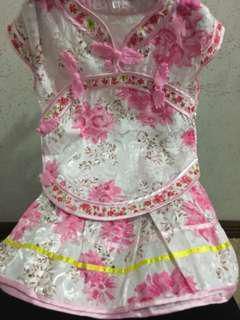 Chinese top and skirt for Baby girl 12-18 months