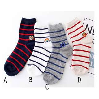 T92 Strips Icon Socks