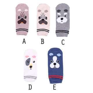 T92 Puppies Ankle Socks