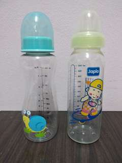 (FOC)(NEW) 2 x Feeding bottles