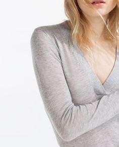 Zara Grey bodysuit