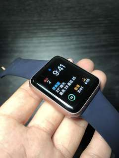 Apple Watch Series 2 玫瑰金