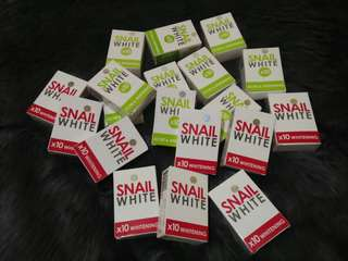 Authentic Snail White Soaps