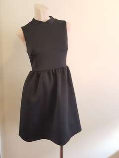 Tokito black high neck dress in womens size 6