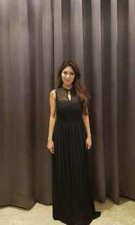 Black dress for sale [free size]