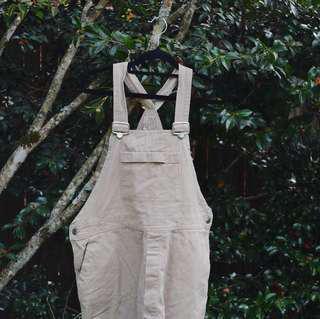 Vintage paint overalls