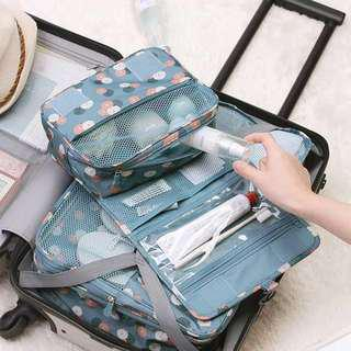Travel Hanging cosmetic makeup storage organizer bag pouch