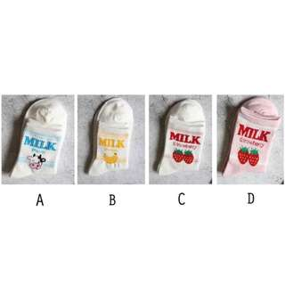 Korean Milk Socks