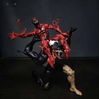 Marvel legends venom & carnage