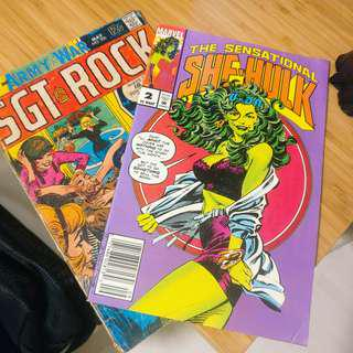 DC comic magazines