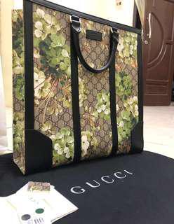 Gucci tote blossom in calf skin