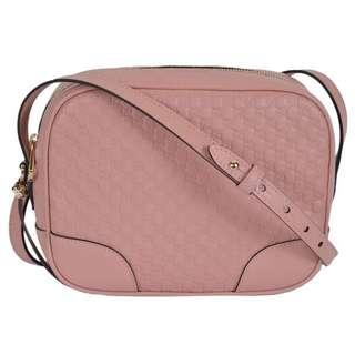 GUCCI Micro Guccissima Shoulder Bag