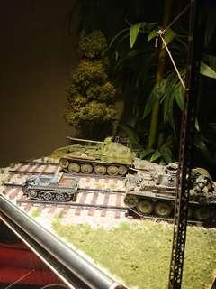 1/35 Scale German Panzer Marder III & 38 ton tank