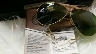 Authentic PILOT Rayban Shooter Green Lanse