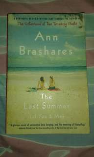 The Last Summer (of You and Me) by Ann Brashares