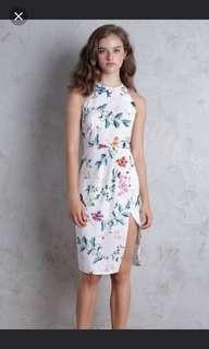 The tinsel rack taria midi dress in XL (ttr)