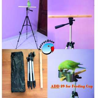 Parrot portable tripod stand