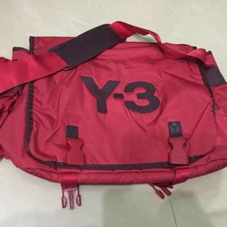 Red Colour Y-3 Messenger Bag (Japan Edition)