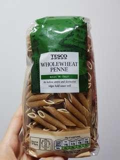Tesco Wholewheat Penne pasta