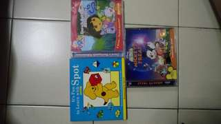 Children English movie /learning/ explore) vcd