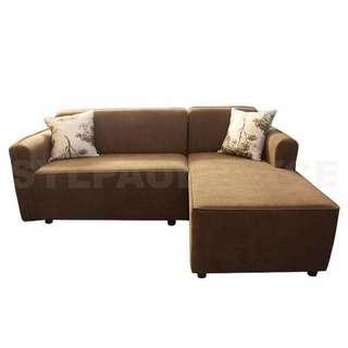 L-Type Sofa (Dark Brown)