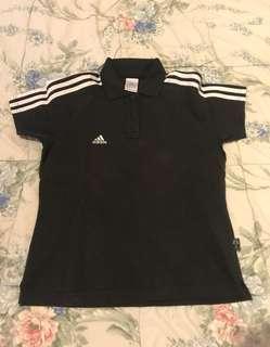Baju Polo kerah Adidas Original size S
