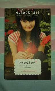The Boy Book by E. Lockheart