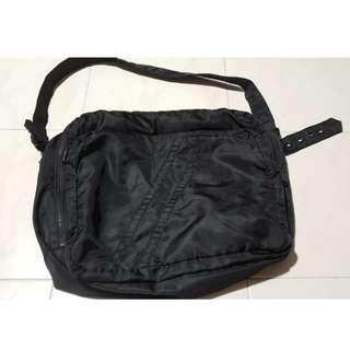 ARMANI EXCHANGE BLACK TOTE SLING BAG