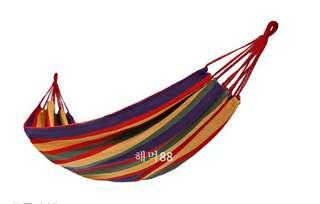 Hammock colourful kasur gantung single