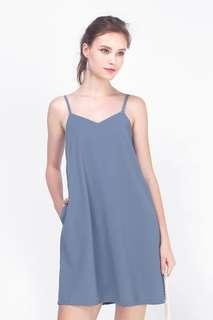 Fayth Mandy Pocket Slip Dress