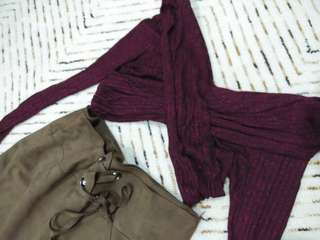 Brand new Charlotte russe ribbed top