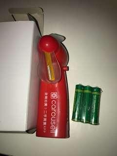 Carousell Fan 小風扇 連電池