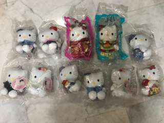 Hello Kitty Macdonalds Plush Toys
