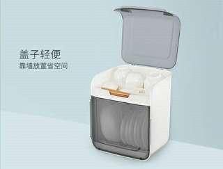 🚚 雙層碗盤瀝水大容量收納器