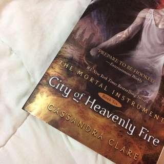 City of Heavenly Fire Book (Brand new!!)