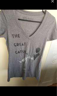 Out of Print Great Gatsby Tee