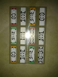 Panda Page Index Markers