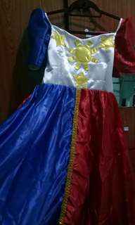 Flag fillipina w/petekot(4 to 6yrs old)once lng nagamit