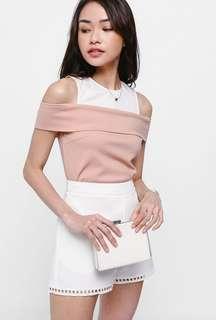 LB Ovilia Blush Pink Top