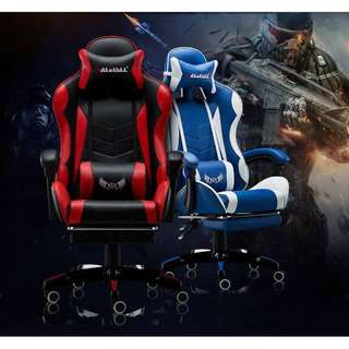 [Best Quality] PU Leather Gaming Chair Computer Chair Racing Gaming Chair