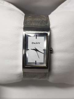 Authentic DKNY watch for ladies with stainless steel bracelet
