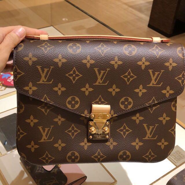 048365a056 💯 Authentic Louis Vuitton Pochette Metis Monogram PREORDER