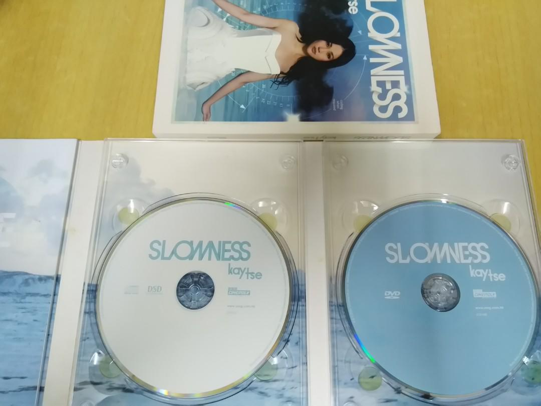 謝安琪 Kay Tse 2009年 Slowness CD+DVD Music Video
