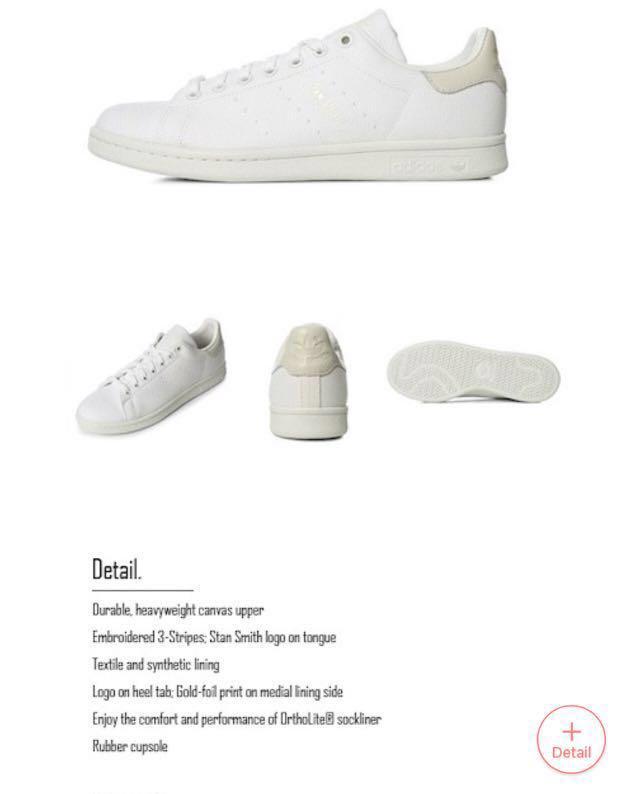 low priced 7f3b9 6c16a Adidas Stan Smith DA9145 white sneakers shoe, Women's ...