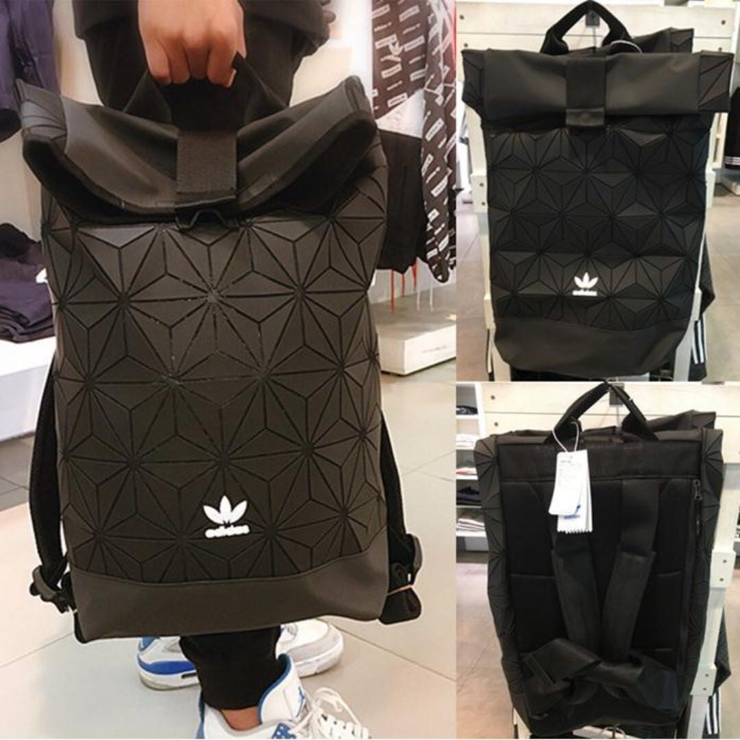 f79d3286a585 Adidas x Issey Miyake 3D Roll Up Unisex Casual Backpack