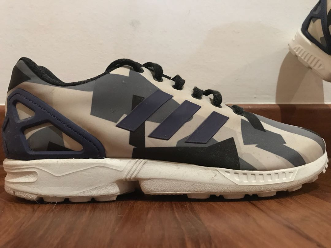 quality design 563a4 54c93 Adidas ZX Flux purple & grey